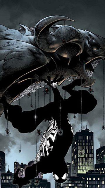 Spiderman volvió al traje negro en el arco Back in Black