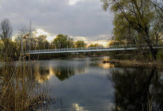 Миргород. Мост через реку Хорол