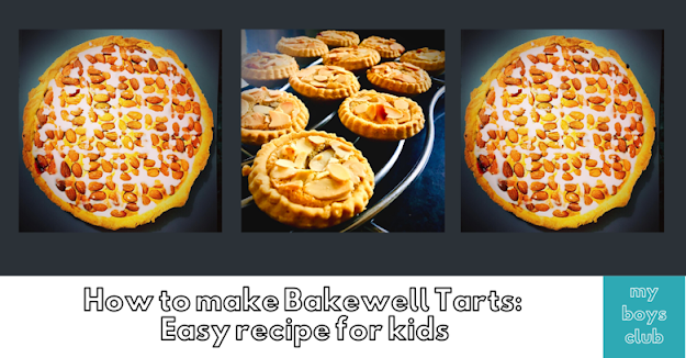 How to make Bakewell Tarts: Easy recipe for kids