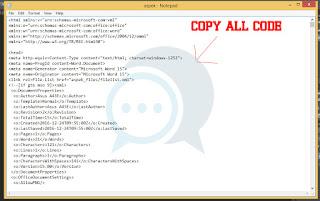 copy all code