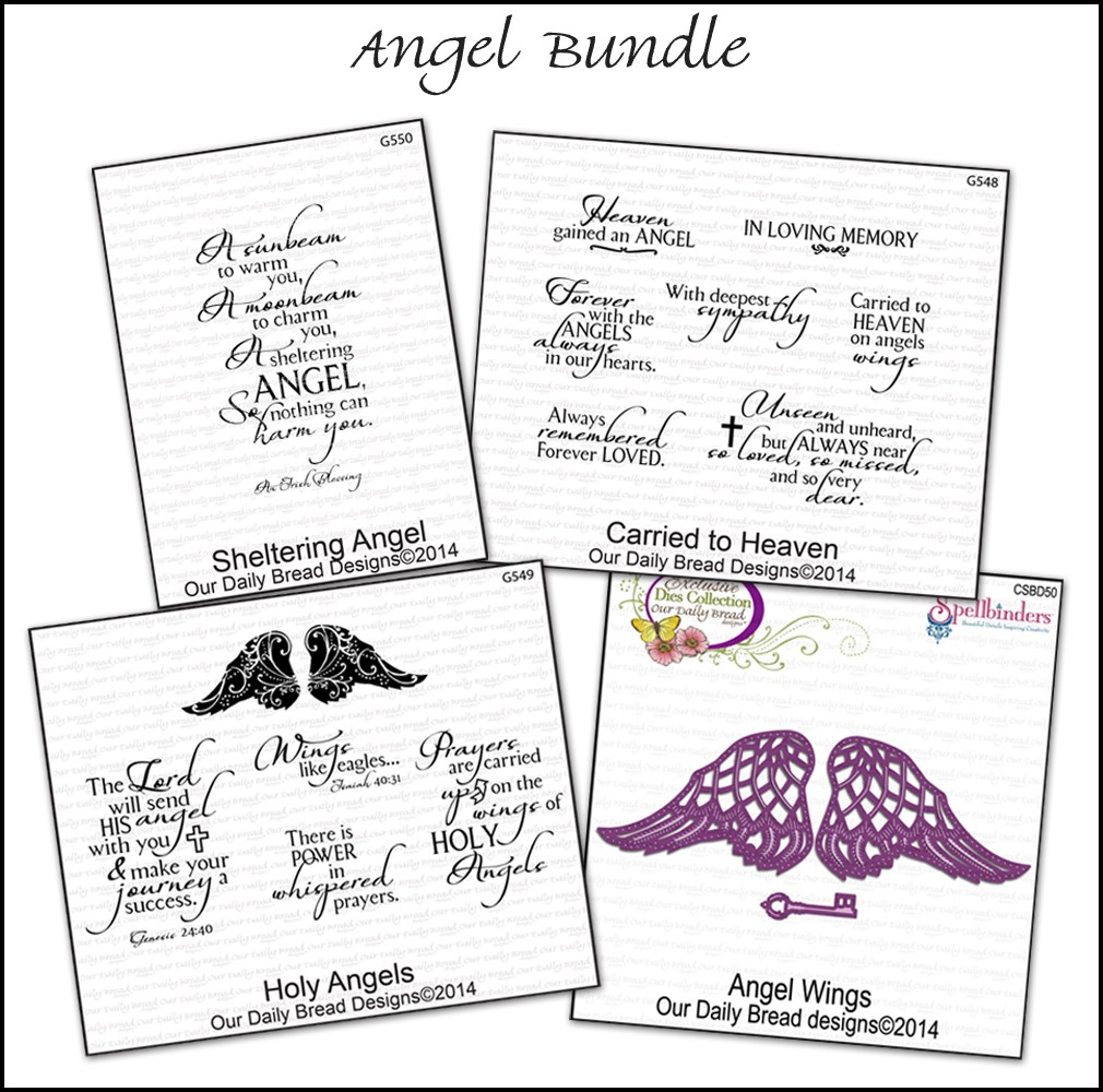 Stamps - Our Daily Bread Designs Angel Bundle