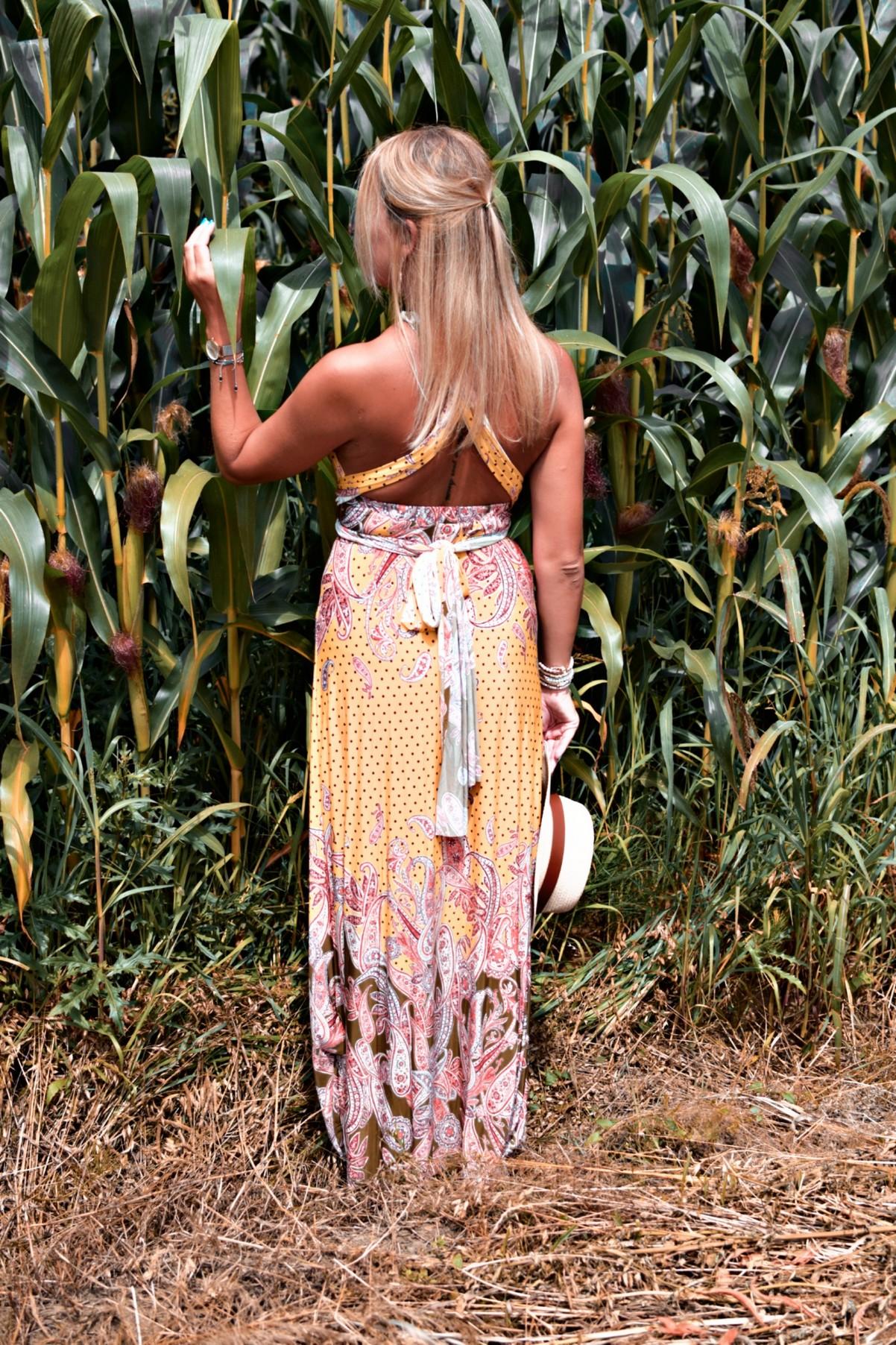 sukienka z motywem paisley Bonprix
