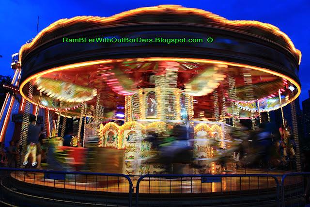 merry-go-around, Christmas Wonderland, Gardens by the Bay, Singapore