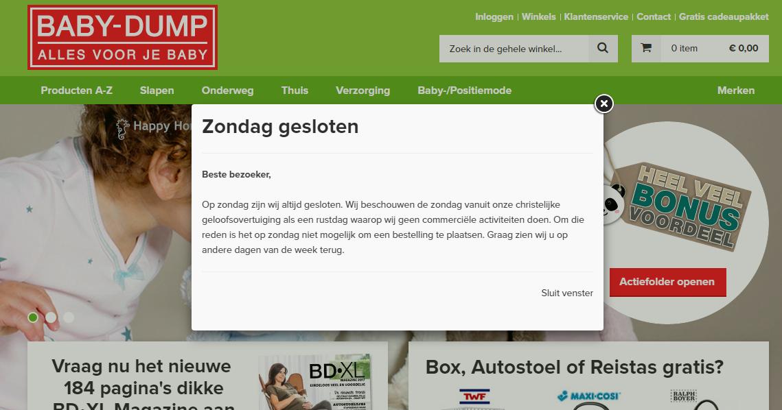 Campingbedje Baby Dump.Blog Van Jan Arend Koelstra Webshop Baby Dump Op Zondag Dicht