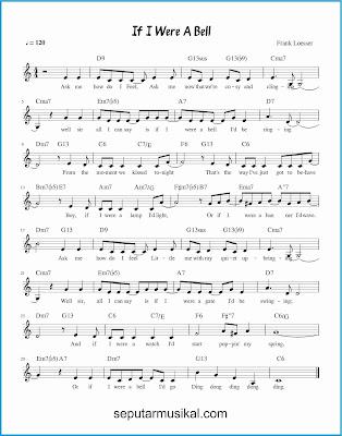 if i were a bell lagu jazz standar