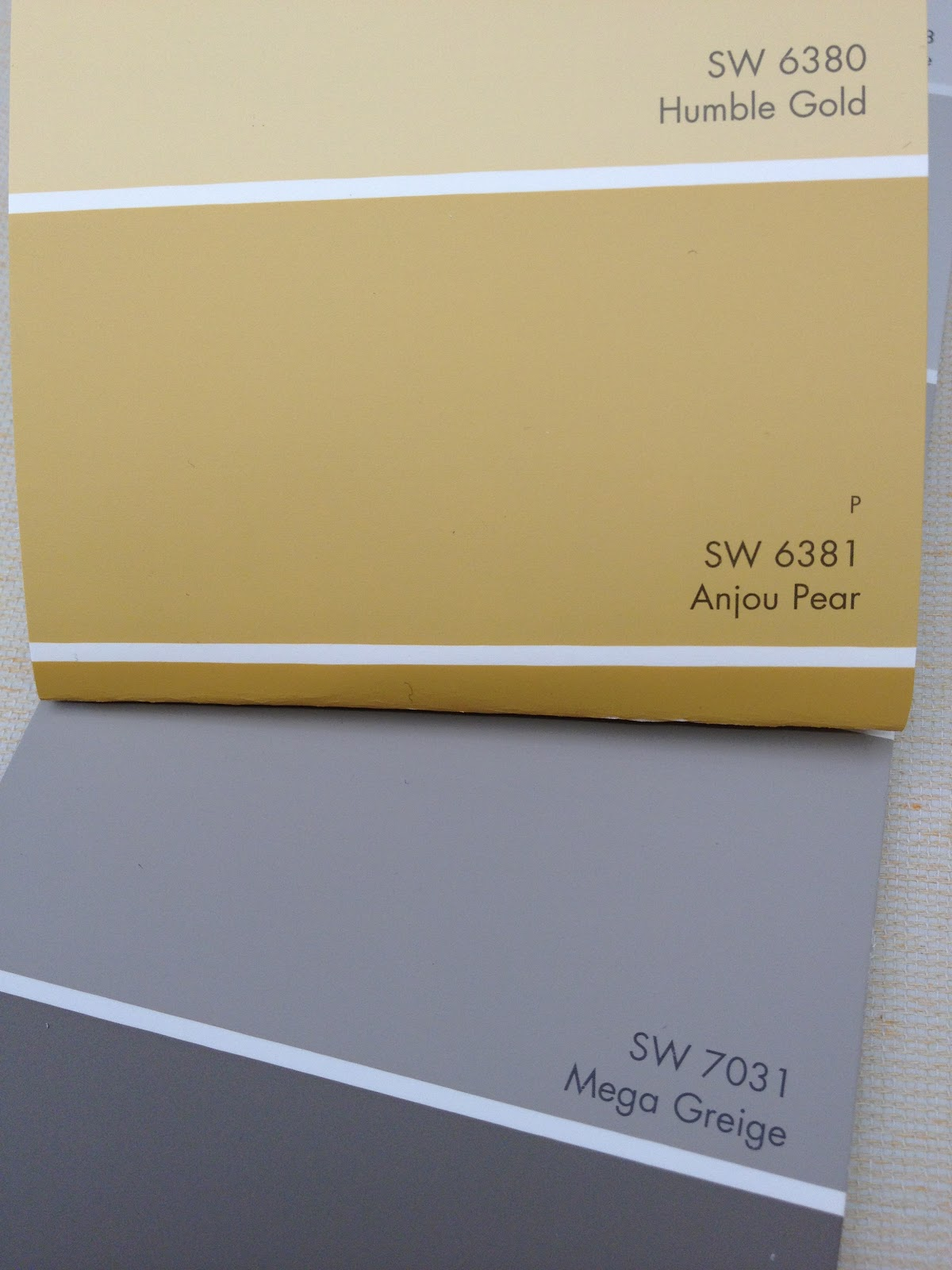 Language of Color and Texture: Mega Greige, Anjou Pear a ...