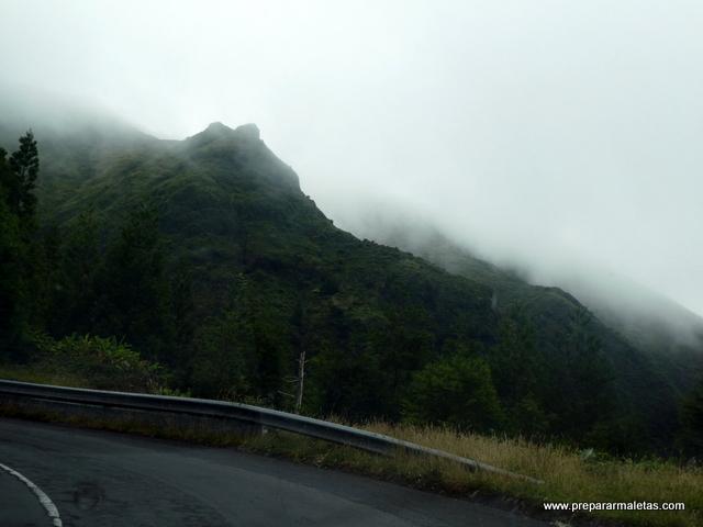 niebla en las Azores