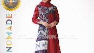 Model Gamis Tenun Troso Jepara Terbaru Etnik Kombinasi Polos Cantik Istana Tenun Jepara Online Shop Jual Kain Baju Tenun Ikat Troso Jepara Original Handmade
