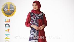 Istana Tenun Jepara Online Shop Jual Kain Baju Tenun Ikat Troso Jepara Original Handmade