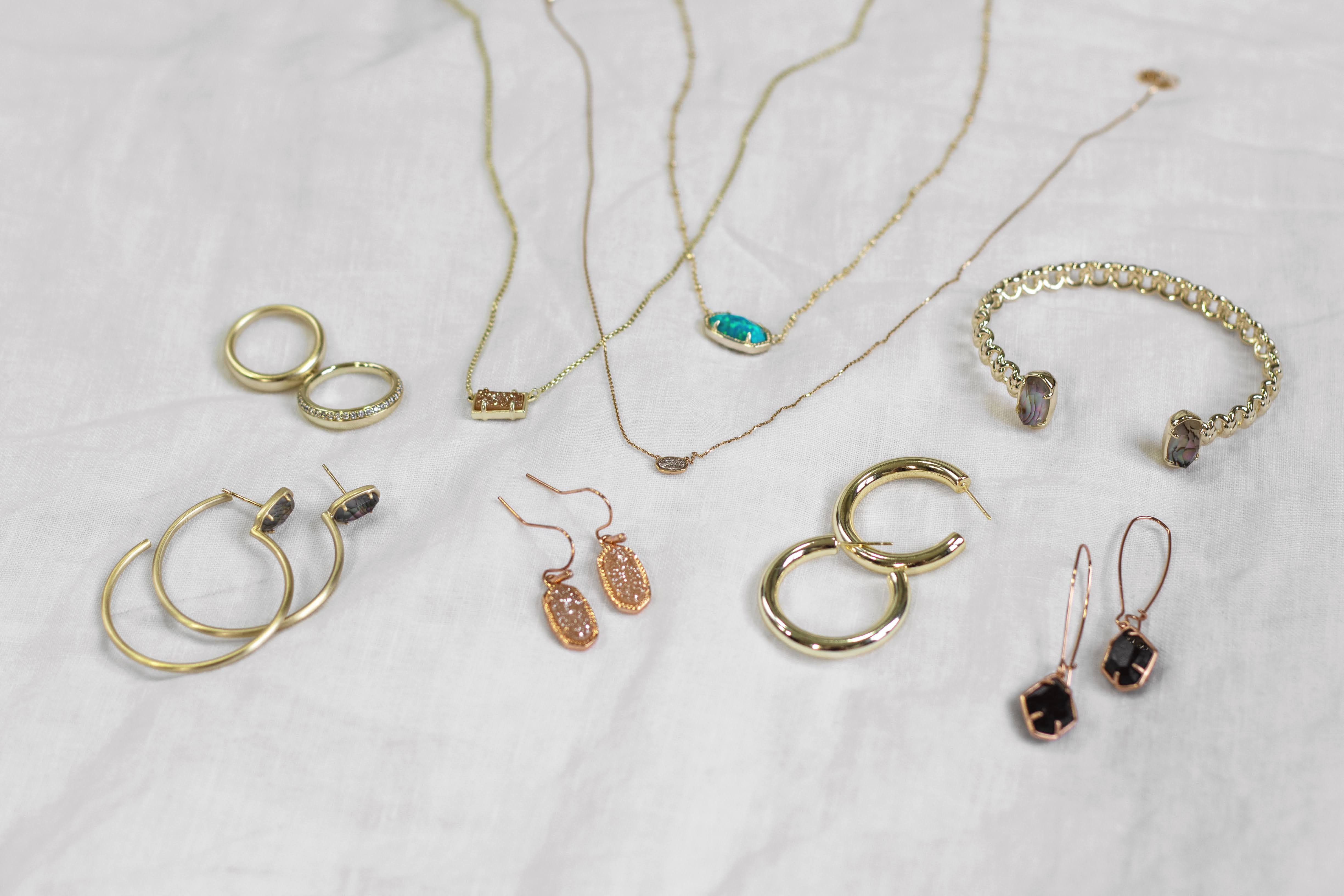 My Kendra Scott Collection + Favorite Pieces