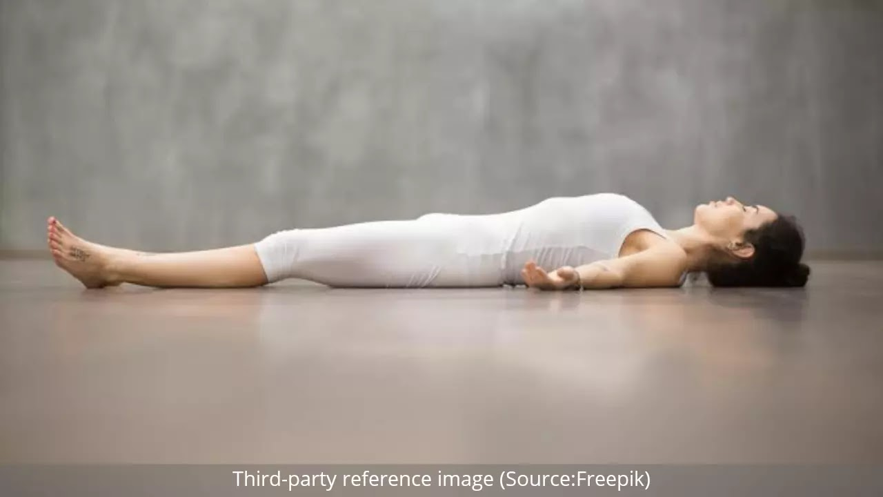 Shavasana (Corpse Pose) | HealthInsta