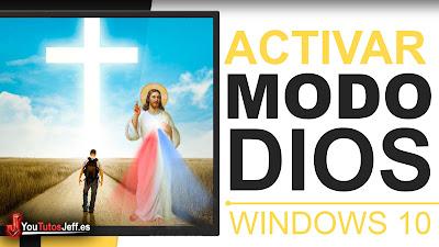 como activar modo dios windows