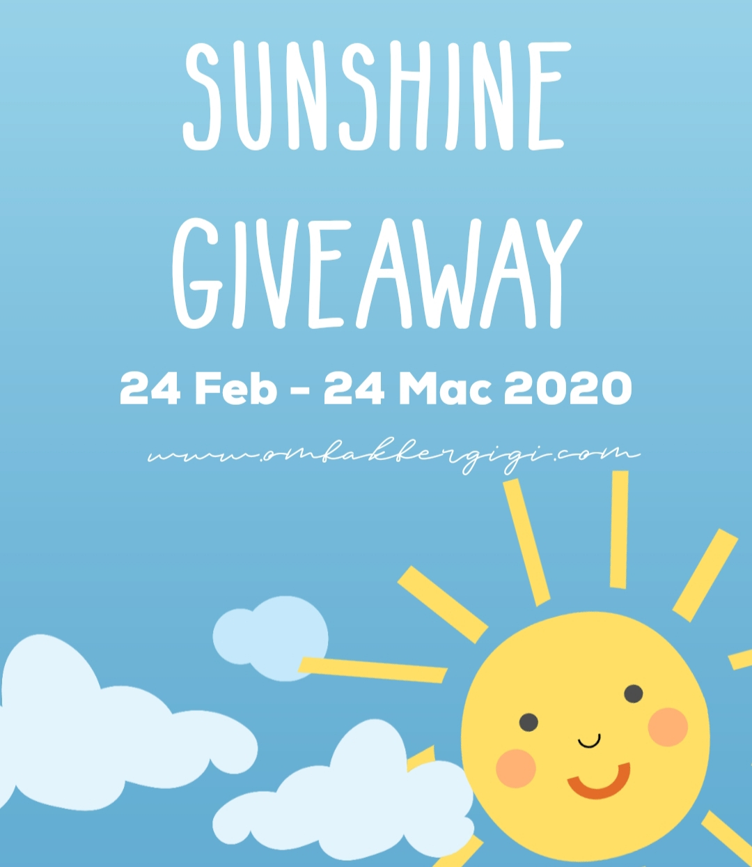 Sunshine Giveaway By Ombakbergigi
