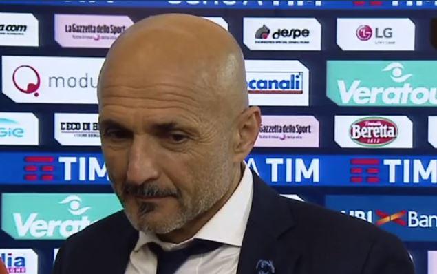 Le parole di Luciano Spalletti al termine di Atalanta Inter 0-0