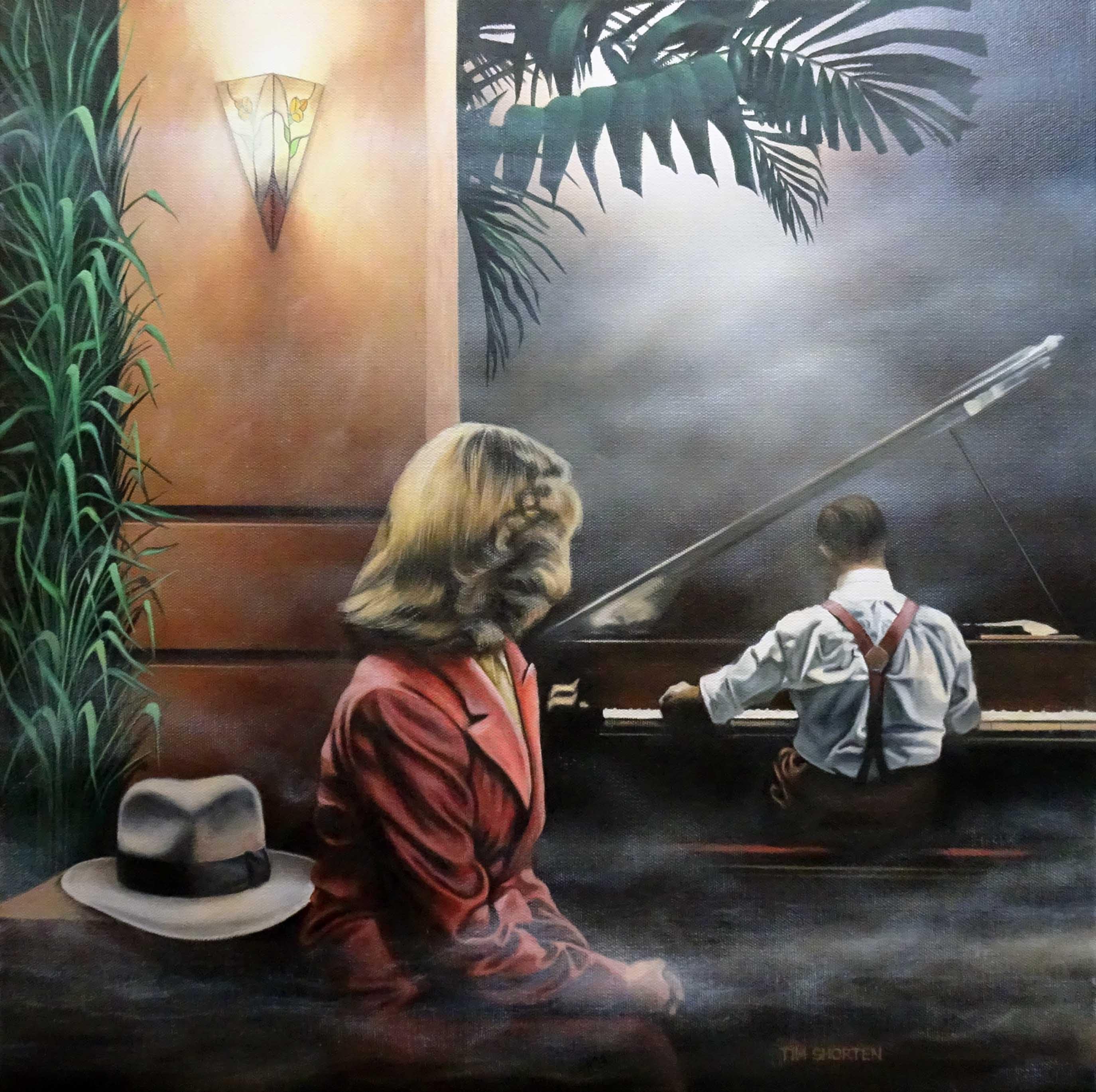 Tim Shorten Hotel pianist