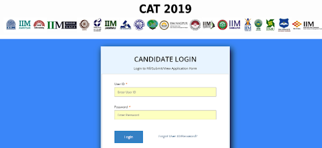 CAT Online Registration Form 2019