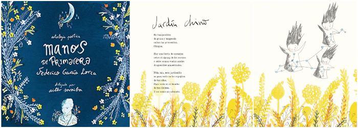 mejores libros de poesía infantil para niños, recopilación poemas Lorca, manos primavera