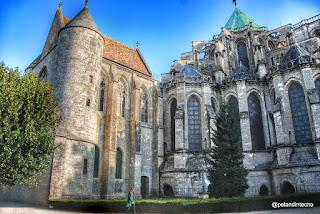 exterior Catedral de Chartres, Francia