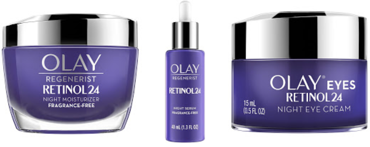 The Savvy Shopper Olay Regenerist Retinol24 Collection