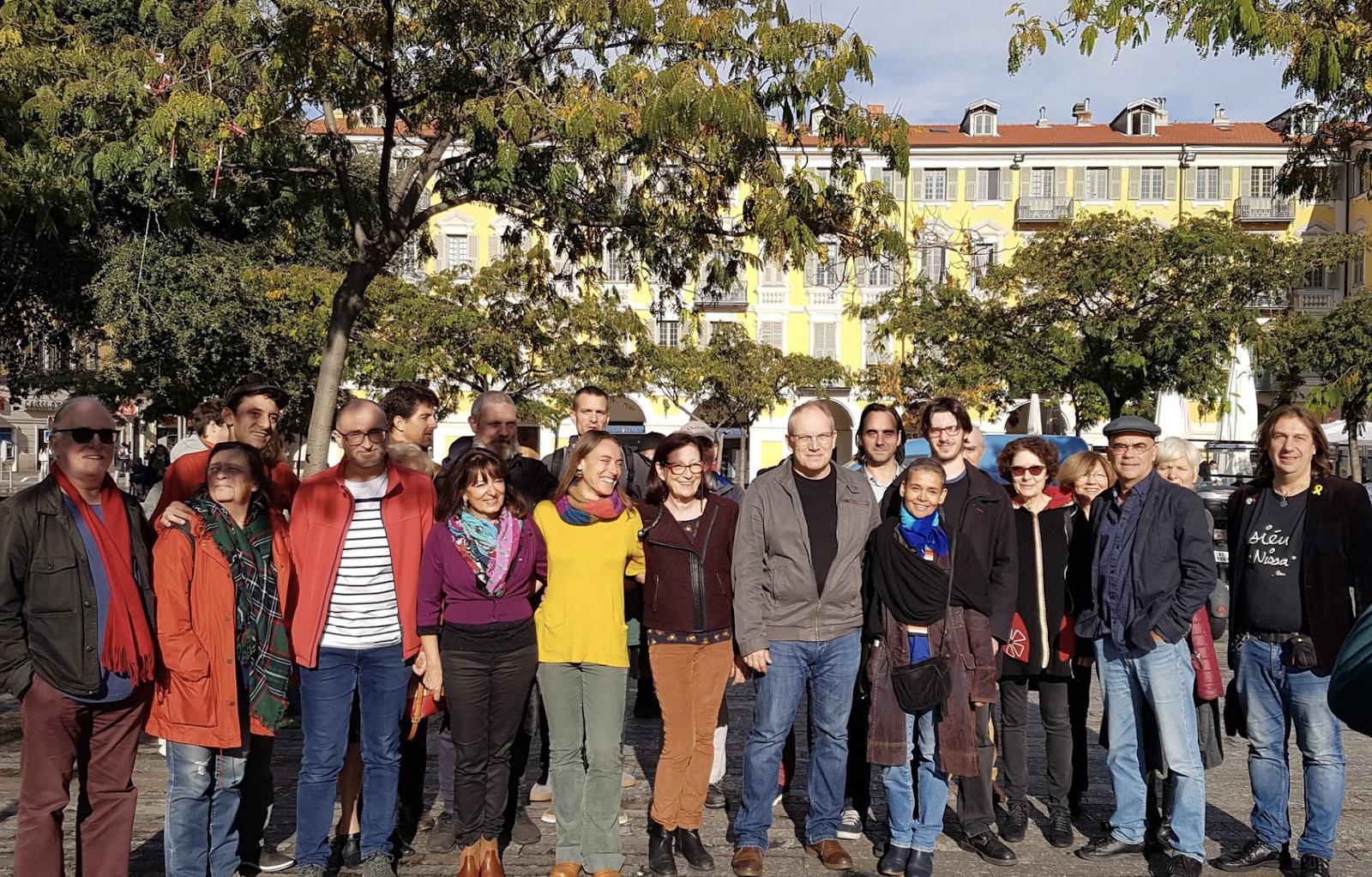 Plutôt à gauche, dans son ensemble, la liste étant soutenue par le PCF et La France insoumise, bien que certains de ses membres soient plus identifiés à des causes citoyennes - Photo : David Nakache