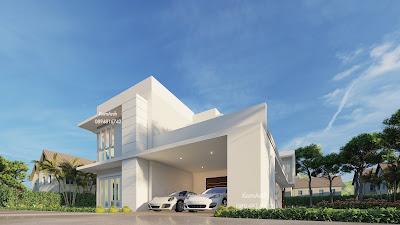 แบบบ้าน 2 ชั้น เจ้าของโครงการคุณกิตติชัย ตั้งรพีพากร สถานที่ก่อสร้าง จ.ปทุมธานี
