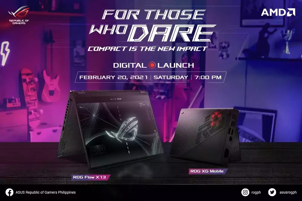 For Those Who Dare 2021 Digital Launch