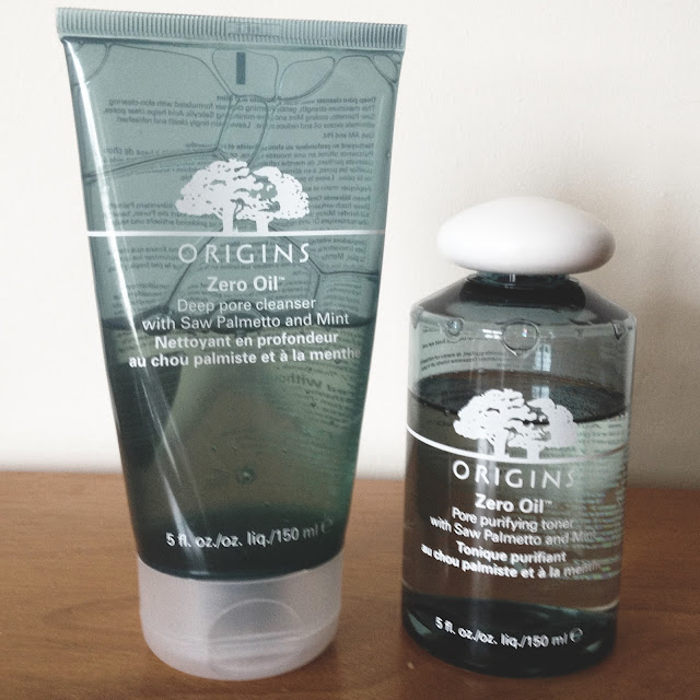 Origins Zero Oil Cleanser and Toner