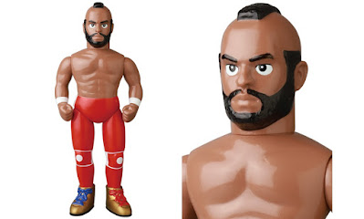 Mr. T WrestleMania 1 Edition Sofubi Vinyl Figure by Medicom Toy x WWE
