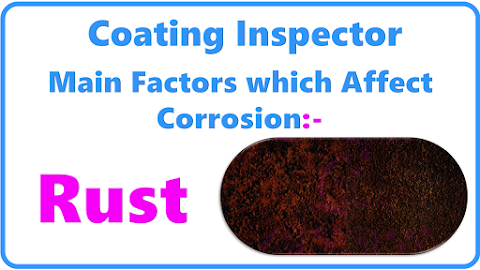 Factors which Affect Corrosion