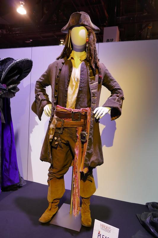 Jack Sparrow costume Pirates Caribbean