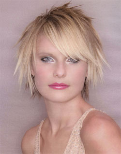 Fine Fashion Medium Choppy Hairstyles Short Hairstyles Gunalazisus