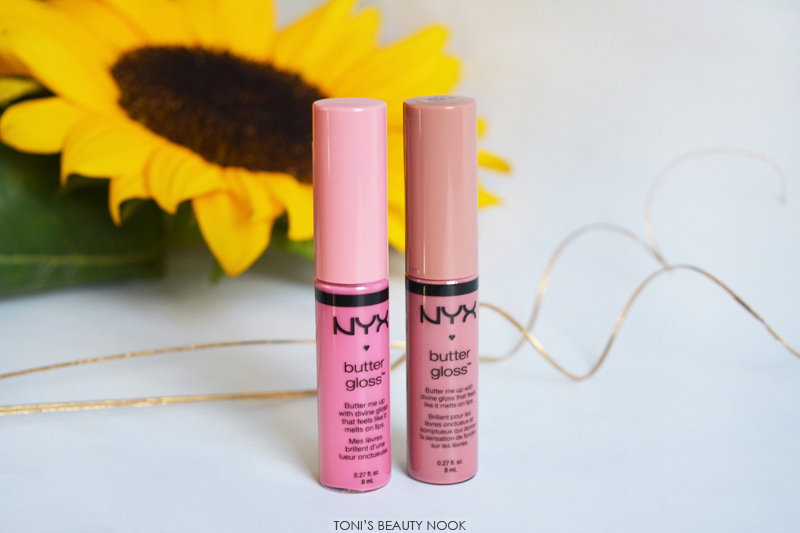 nyx butter gloss tiramisu vanilla cream pie lip gloss