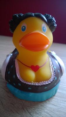 Traudl ist die Mama Ente