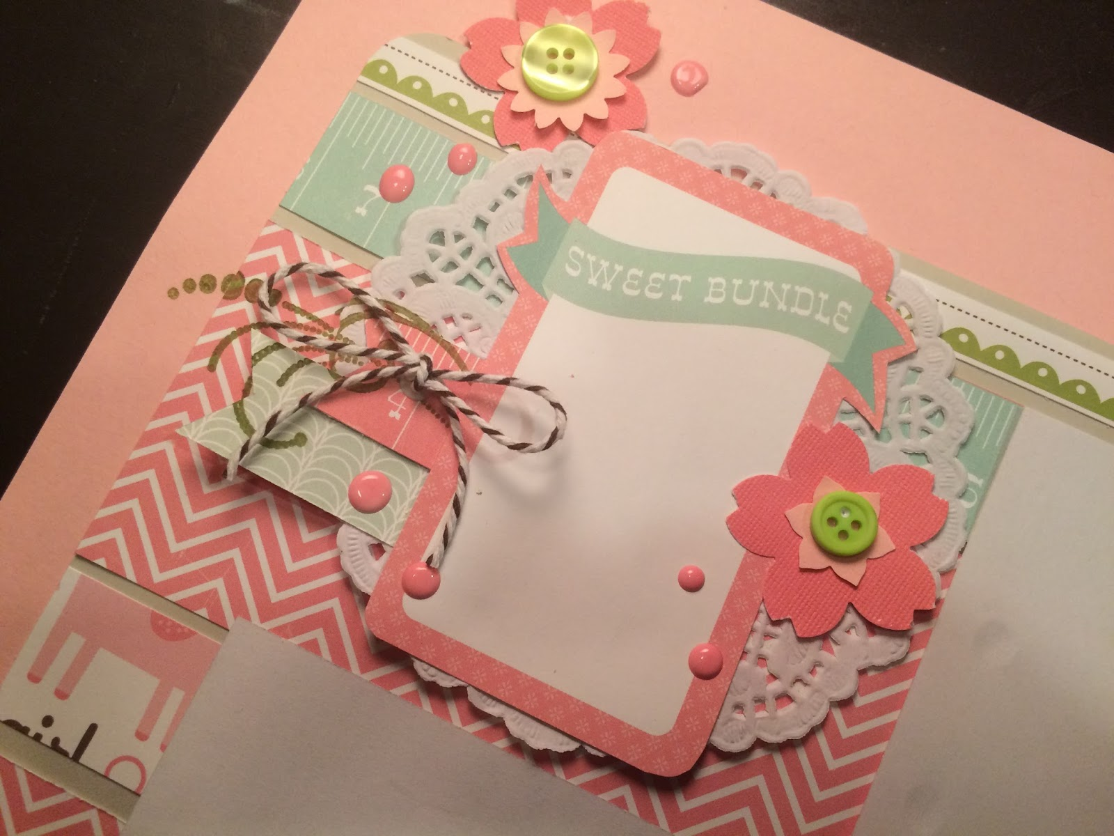 Baby girl scrapbook ideas - My Latest Customer Requested Gorgeous Baby Girl Pages So Here S What I Came Up With She Was Thrilled With The Results