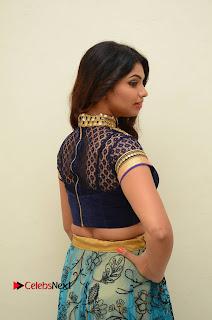 Actress Varsha Pictures in Saree at Dada Puttista Audio Launch 0039
