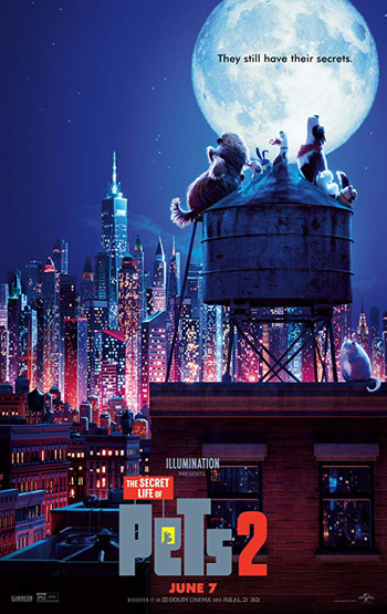 The Secret Life of Pets 2 2019 Dual Audio Clean Hindi 480p WEB-DL 300MB poster