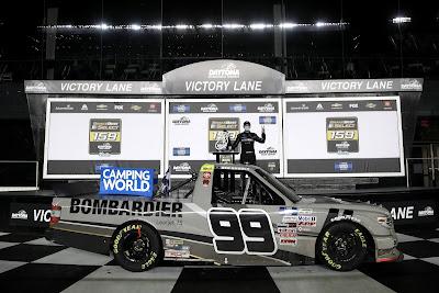 NASCAR Camping World Truck Recap - Ben Rhodes Wins
