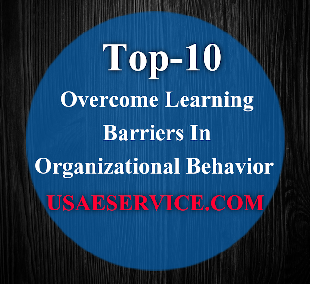 Overcome Learning Barriers