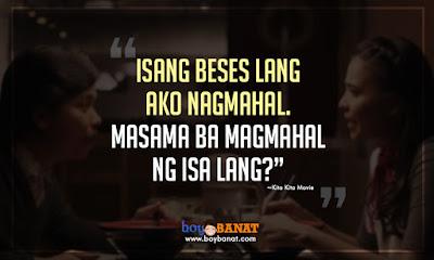 Image of: Tagalog Kita Kita Movies Tonyo Best Quotes And Banat Lines Boy Banat My Amnesia Girl Movie Cheesy Pick Up Lines Boy Banat