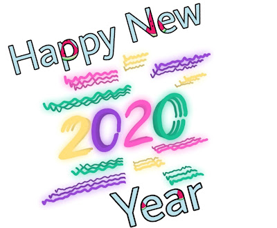 Beautyfull Happy New Year 2020 gif