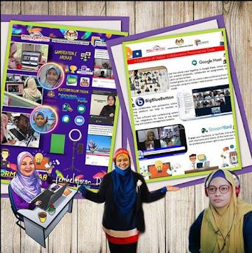 Poster Pembelajaran dalam talian