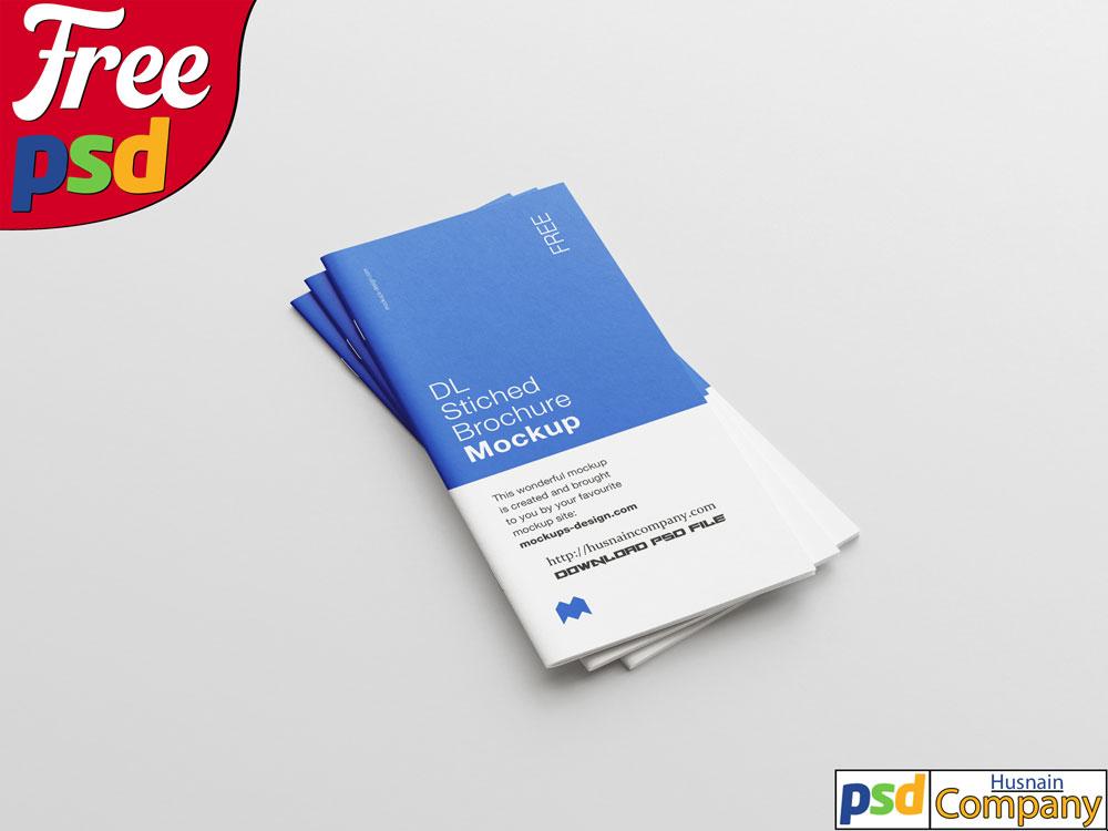 Download Clean Brochure PSD Mockup #1