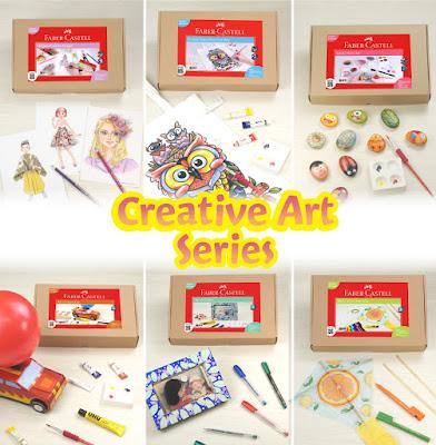 Creative Art Series dari Faber Castell