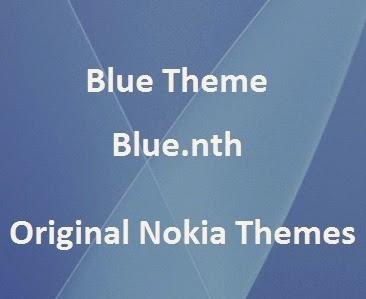 Blue Theme [Blue nth] - Download Original Nokia x2 theme