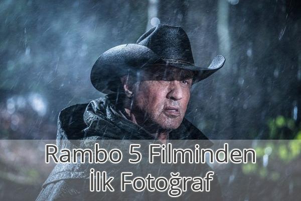 Rambo 5 Last Blood İlk Fotoğraf