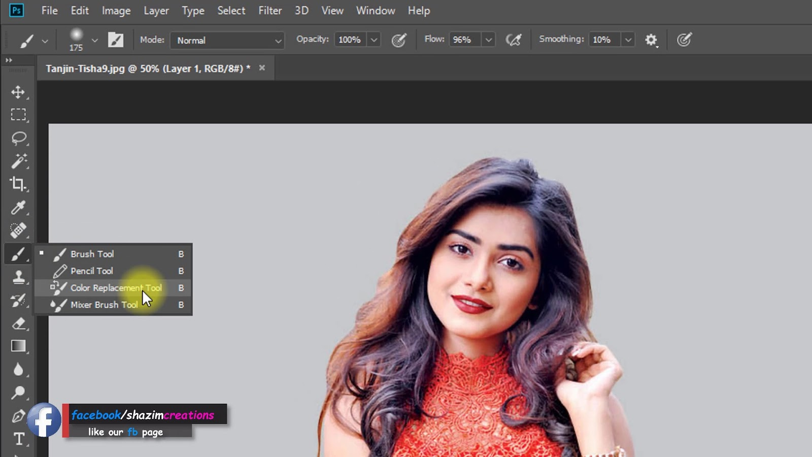 Change Background color in Photoshop Screenshot 2
