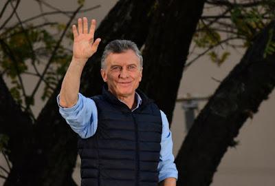 Macri dá adeus