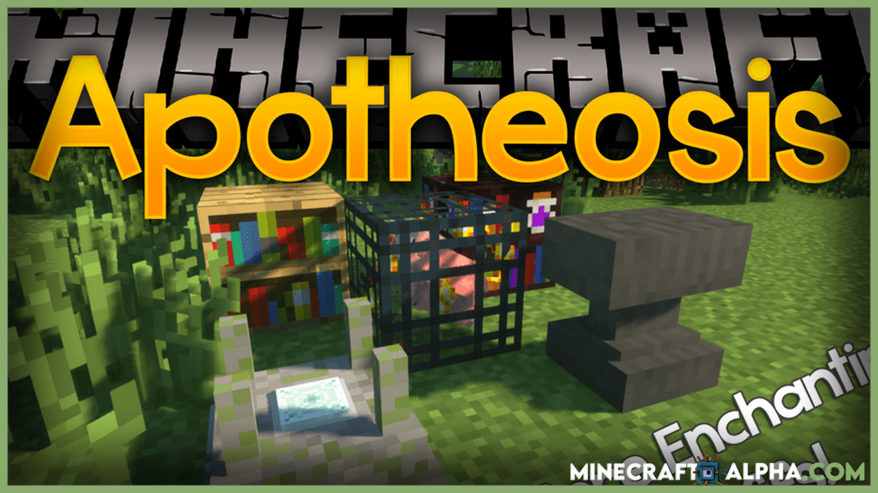 Minecraft Apotheosis Mod 1.16.5 (All Things That Should Have Been)