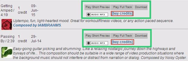 No copyright sound
