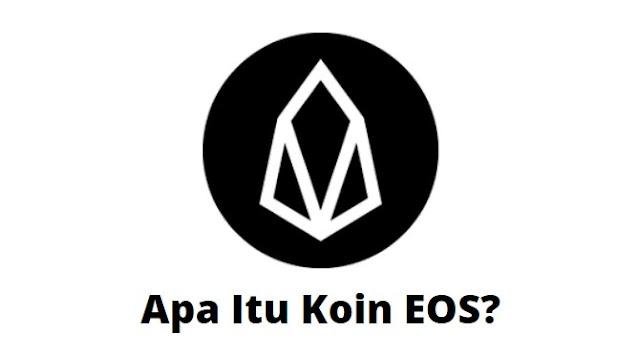 Gambar Koin EOS Cryprocurrency